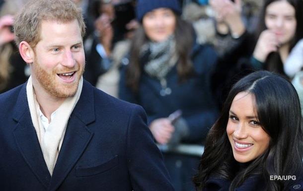 Принц Гарри впервые вышел с невестой в свет
