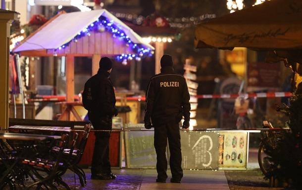 В Германии возле рождественской ярмарки нашли взрывчатку