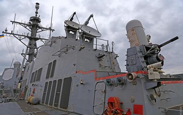 В Одессе показали, как выглядит изнутри американский эсминец