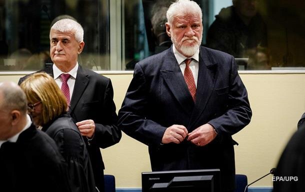 Установлен яд, которым отравил себя хорватский генерал на суде в Гааге