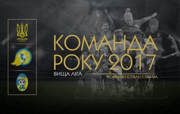 Анонс. Голосування «Команда року-2017» у жіночому футболі.