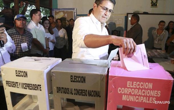 В Гондурасе второй день переносят объявление итогов выборов президента