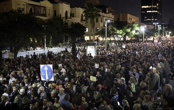 В Израиле прошел марш против коррупции