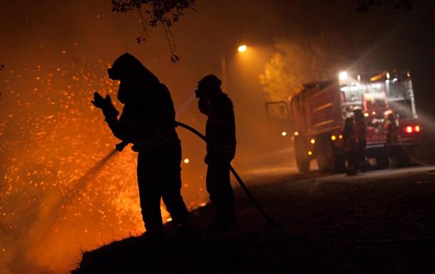 В Україні за рік відбулося 79 000 пожеж