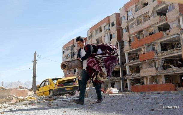 Кількість жертв землетрусу в Ірані перевищила 520 осіб