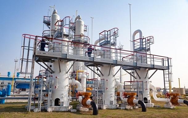 Украина в ноябре использовала почти на 20% газа меньше, чем год назад