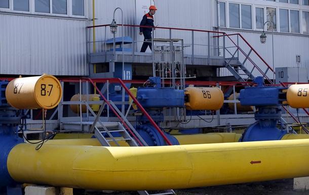 Украина более чем на треть увеличила импорт газа