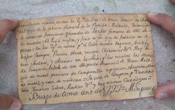 У статуї Ісуса Христа в Іспанії знайшли таємне послання