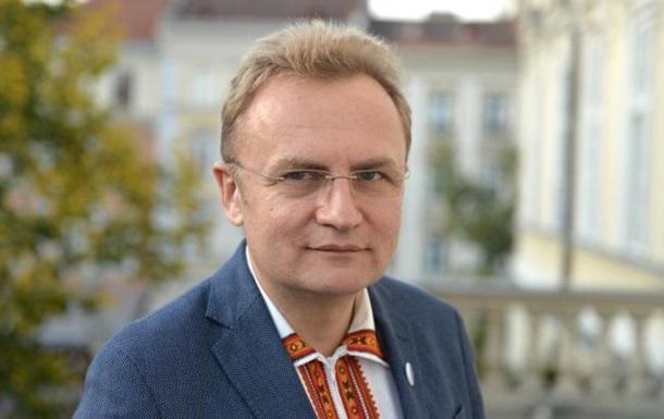 Мэр Львова Садовый рассказал о допросе в СБУ из-за карты с ЛДНР