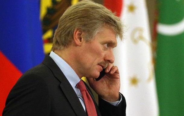 У Кремлі відреагували на затримання Саакашвілі