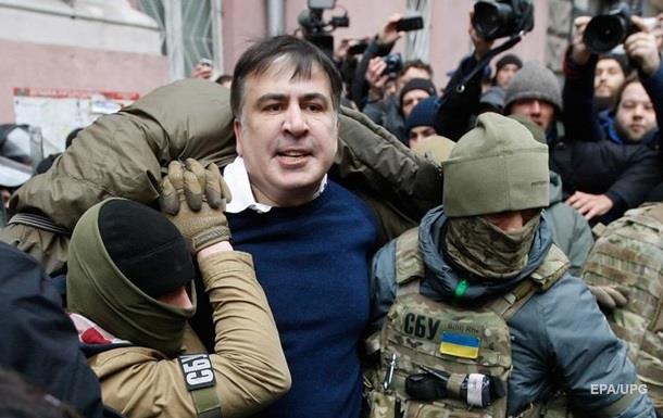 Задержание Саакашвили в Киеве: онлайн-хроника