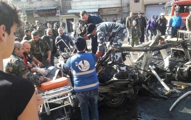 У Сирії підірвали бомбу в пасажирському автобусі, є жертви