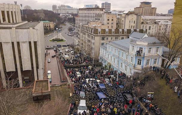 У Києві нові сутички під час затримання Саакашвілі