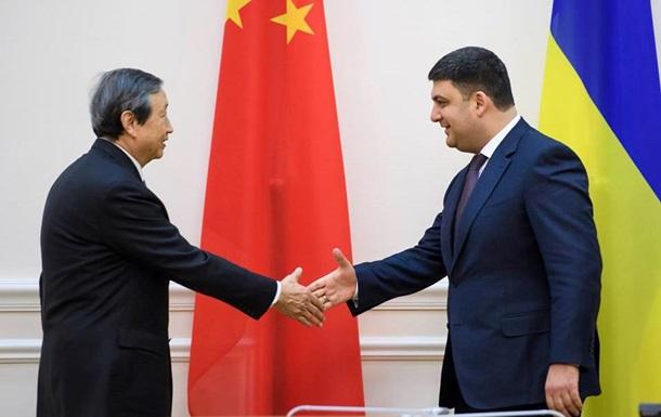 Гройсман заявил о проектах с Китаем на миллиарды долларов