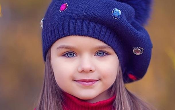ЗМІ показали найкрасивішу у світі дівчинку