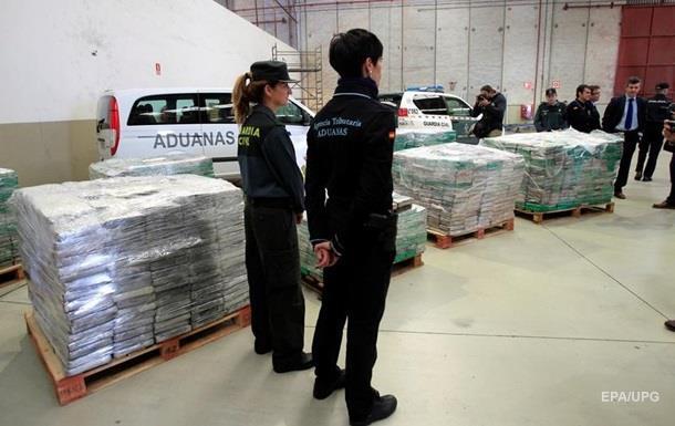 В Іспанії вилучили партію кокаїну на $250 млн