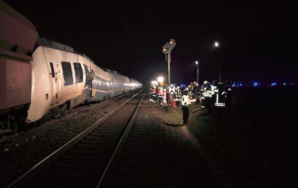 У Німеччині зіткнулися два потяги