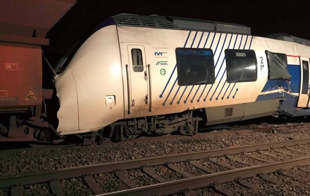 Столкновение поездов в Германии: пострадали 47 человек