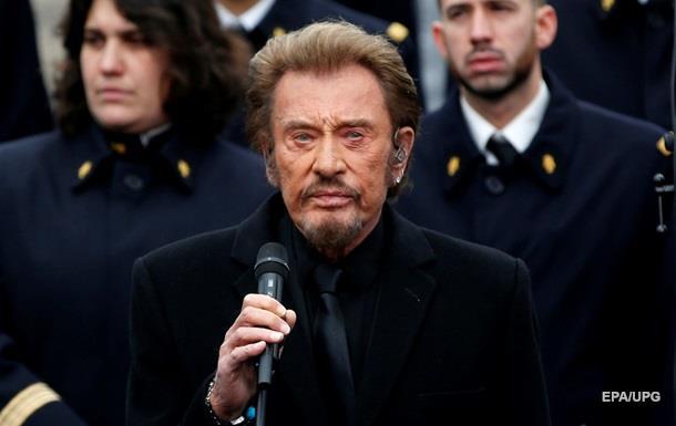 Умер французский рок-музыкант Джонни Холлидей