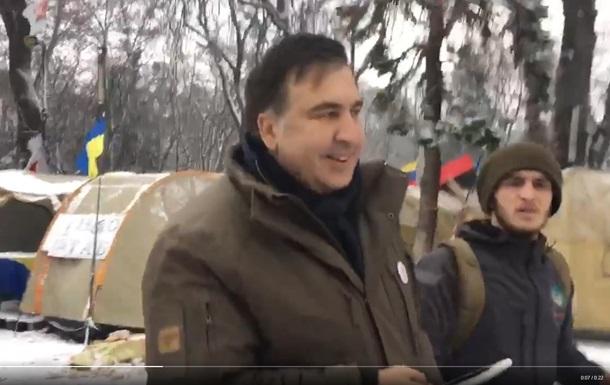 Саакашвілі під Радою нагрубив журналістові