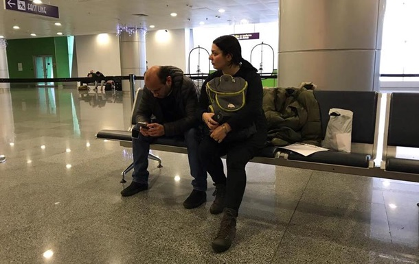 Грузинських журналістів не пустили в Україну
