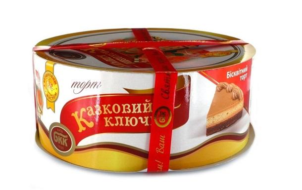 АМКУ оштрафував Київхліб за дизайн коробки торта