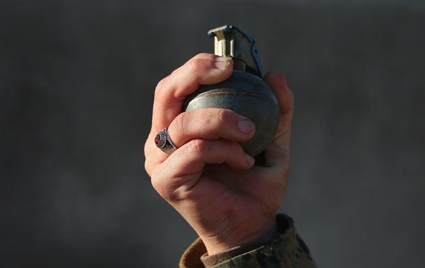 У Херсоні намагалися підірвати банкомат за допомогою гранати