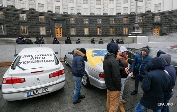 В Україні нарахували 150 000 незаконних авто на єврономерах