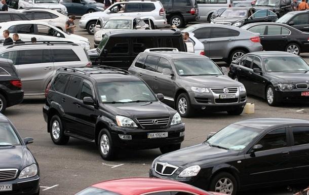 В Украине продажи подержанных авто выросли вчетверо