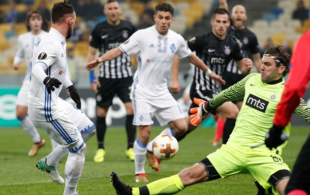 Динамо - Партизан 4:1. Онлайн матчу Ліги Європи