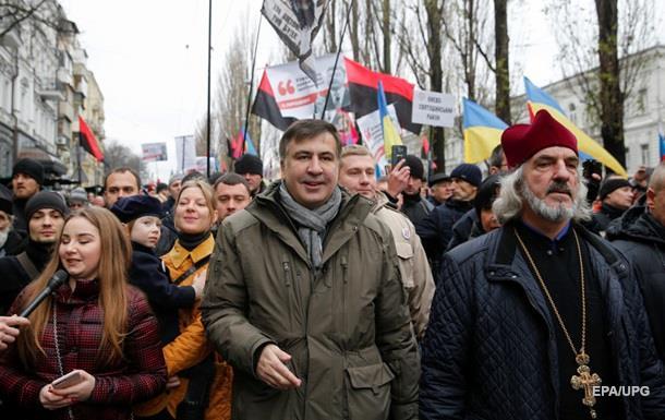 Болезнь не пустила Саакашвили на вече под Раду