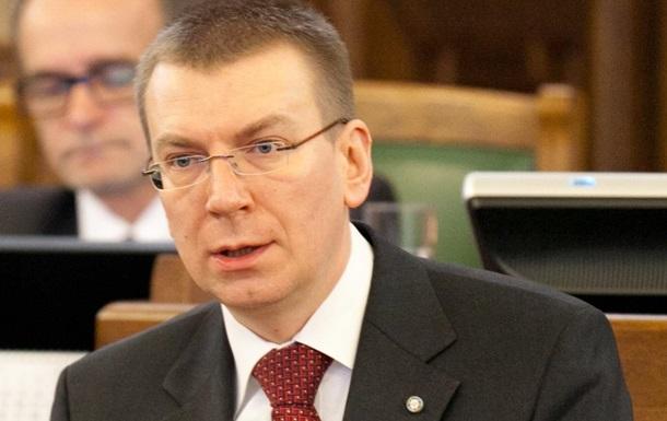 Латвія: РФ повинна відповідати за агресію в Україні
