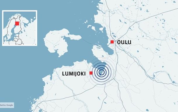 У Фінляндії стався землетрус