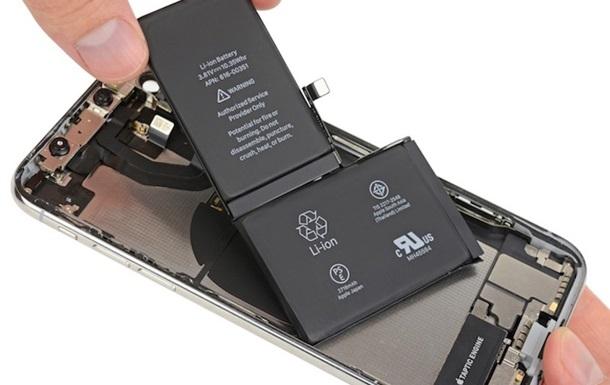 Нові iPhone оснастять ємною L-образною батареєю