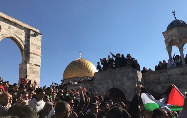 В Иерусалиме тысячи арабов вышли на акцию протеста