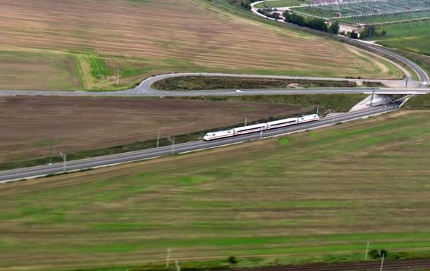 В Германии запустили новый скоростной поезд