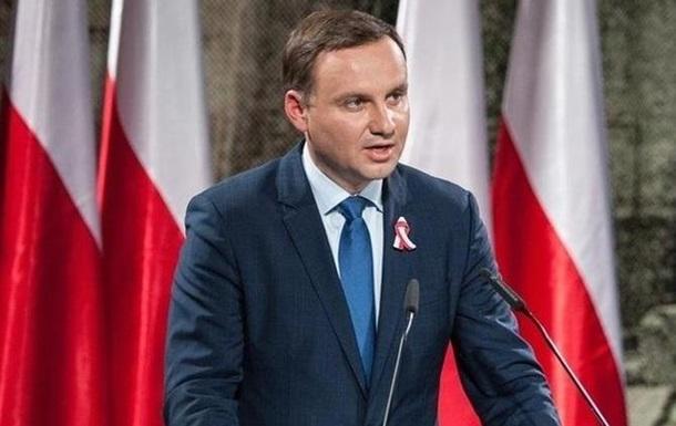 Президент Польши посетит Украину 13 декабря