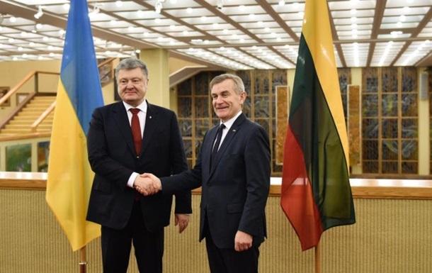 Україна і Литва заявили про необхідність посилення санкцій ЄС проти РФ