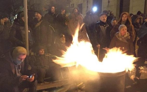 Прихильники Саакашвілі протестують біля СІЗО