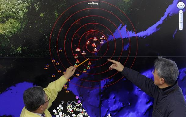 В КНДР на месте ядерного полигона произошло землетрясение