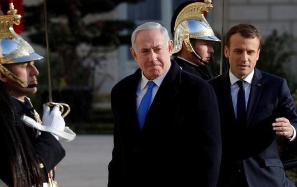 Макрон запропонував Ізраїлю зробити крок назустріч палестинцям