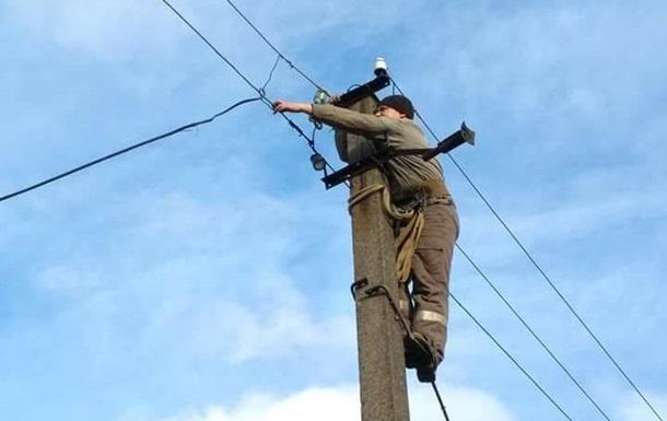 Штаб: Електропостачання в Травневому повністю відновлено