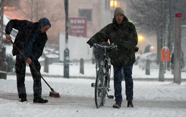 Украину ожидает потепление