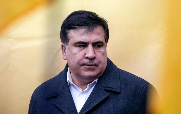 Сакашвили заявил, что покажет,  как умирает президент