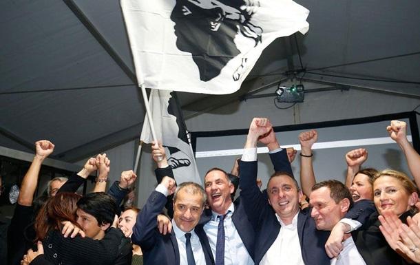 Сепаратисти виграли вибори на Корсиці