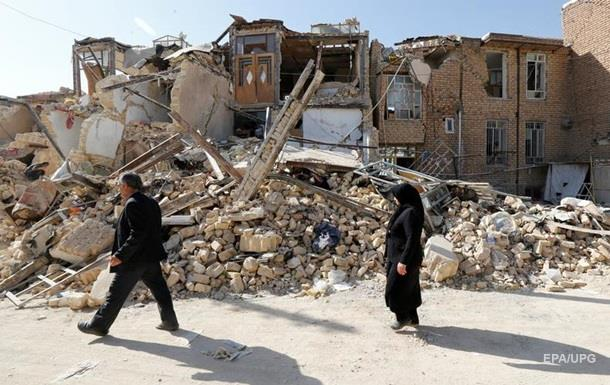 В Иране произошло сильное землетрясение