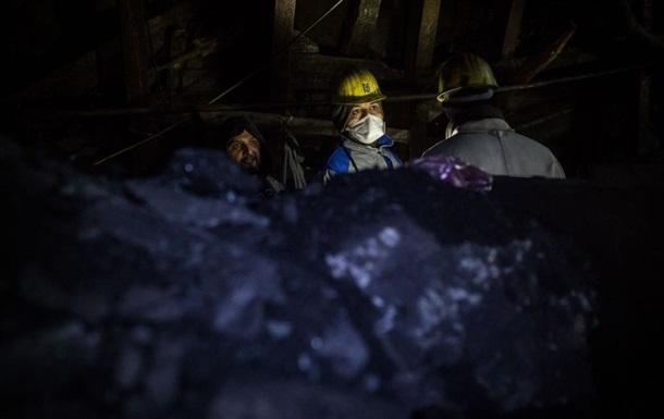 В Україні скоротився видобуток вугілля