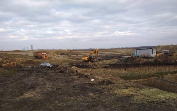 У зоні АТО виявили незаконний видобуток вугілля кар єрним способом