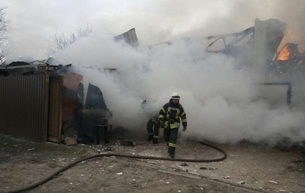 Пожар в Киеве: стали известны подробности