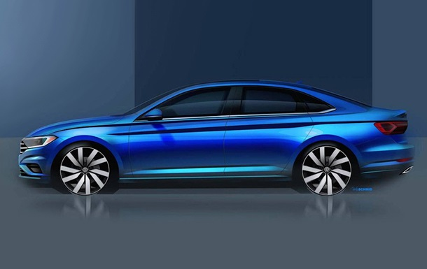 Volkswagen показал внешность обновленного Jetta